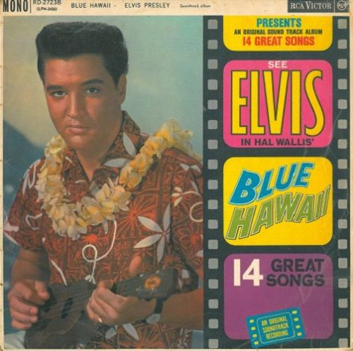ELVIS PRESLEY Blue Hawaii Vinyl Record LP RCA